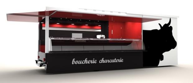 fabricant camion remorque boucher charcutier boucherie charcuterie. Black Bedroom Furniture Sets. Home Design Ideas