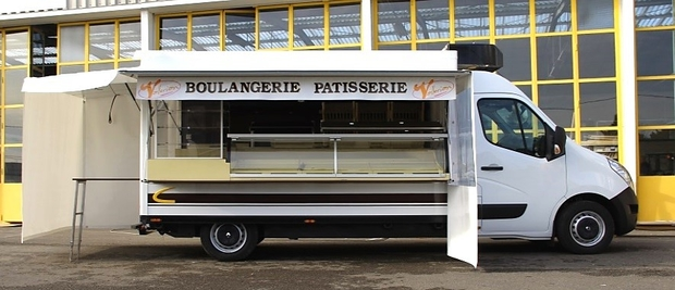 3700 CAMION BOULANGER PATISSIER