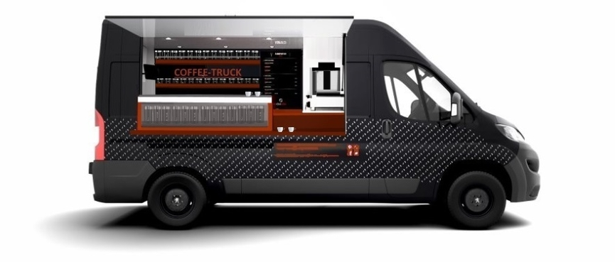3000 camion Coffee truck