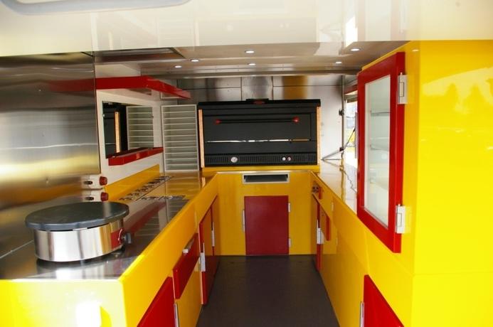 Bien connu Fabricant camion remorque pizza pizzeria RS02