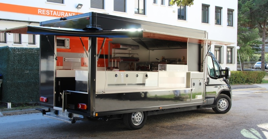 4100 camion Food truck